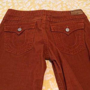 true religion corduroy jeans.